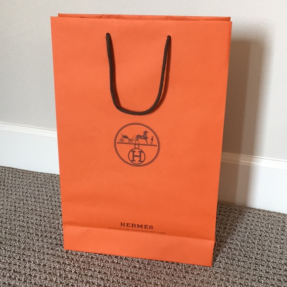 e4ef5e9ad91 Hermes Bags   Herms Long Shopping Bag 17 X 11 X 4   Poshmark